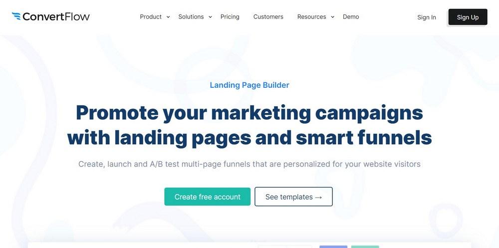 Landing Page Creator ConvertFlow