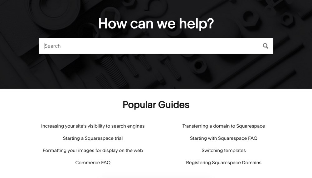 Squarespace help and support