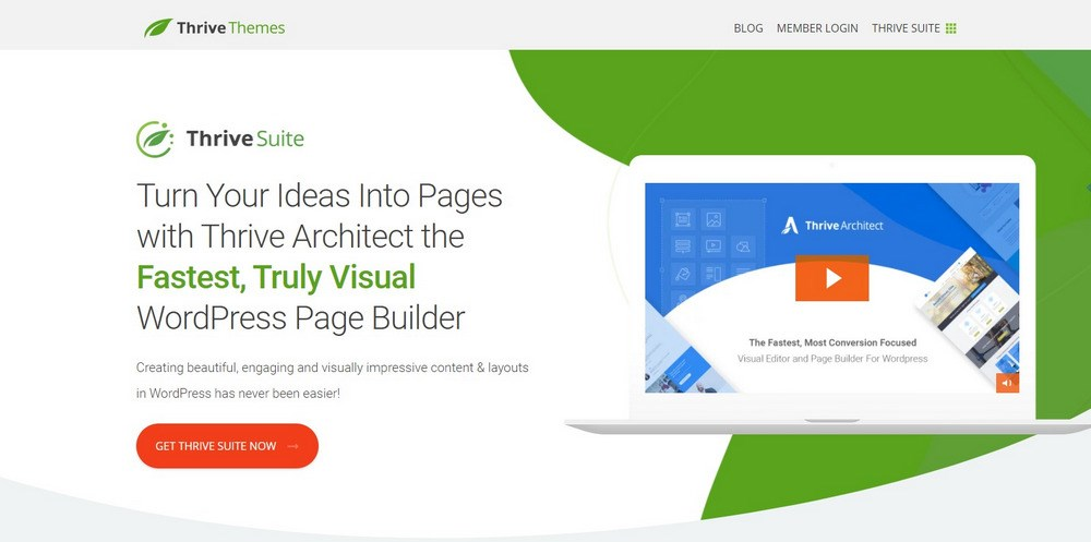 Thrive Architect WordPress Page Builder