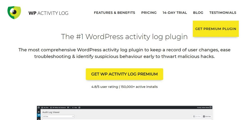 WP Activity Log WordPress plugin