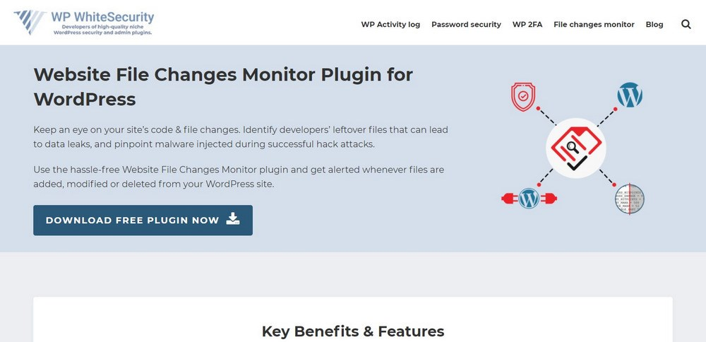Website File Changes Monitor Plugin for WordPress