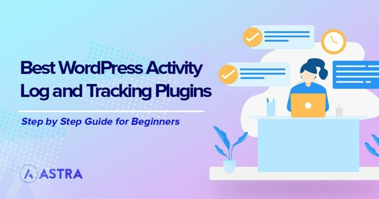 WordPress activity log and tracking plugins