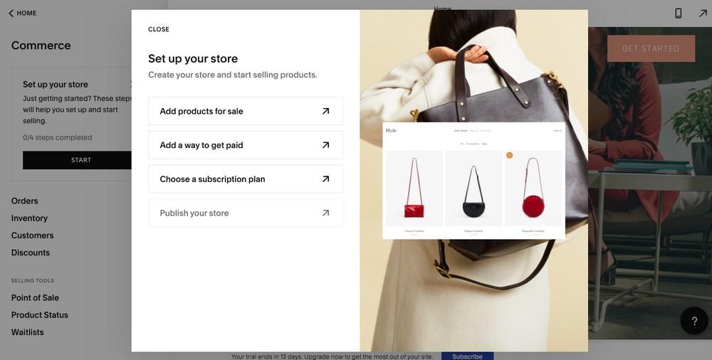 WordPress eCommerce store