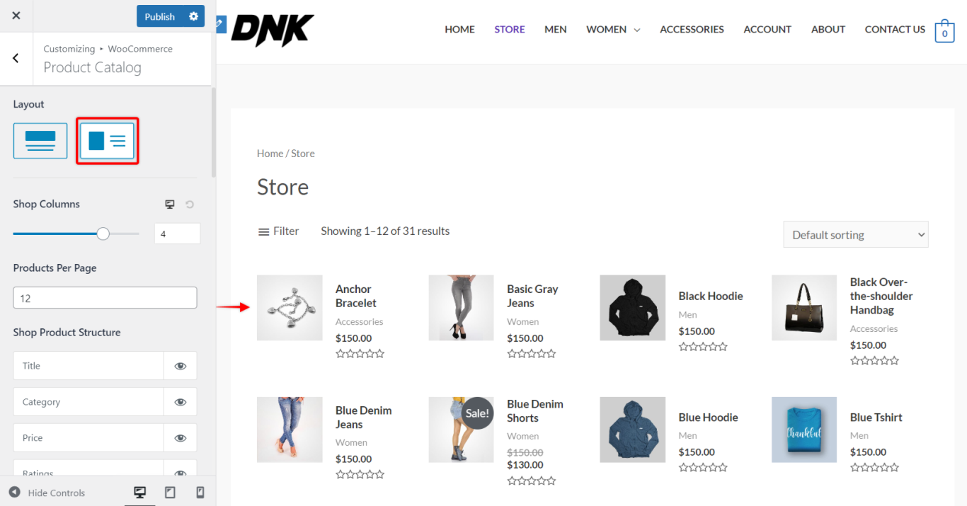 Astra Pro - WooCommerce, List Layout, Astra 3.0+