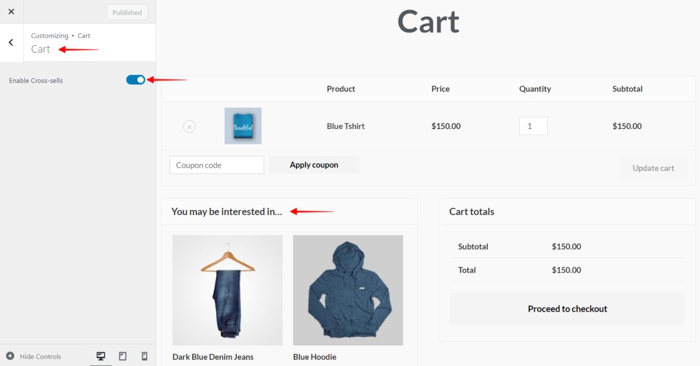 WooCommerce Cart, Astra 3.0+