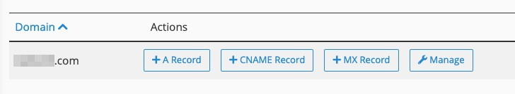 cPanel DNS setup