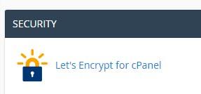 cPanel SSL