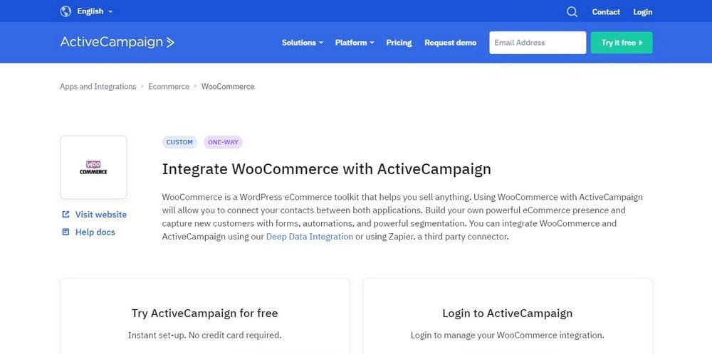 ActiveCampaign WooCommerce Integration