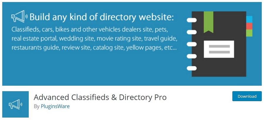 Advanced Classifieds & Directory Pro WordPress plugin