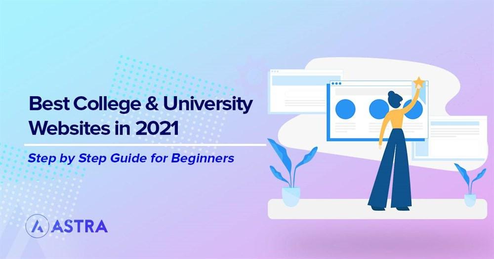 Best college and university websites