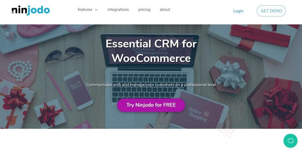 CRM for WooCommerce Ninjodo