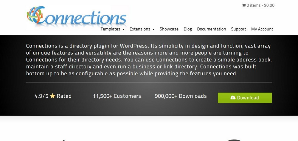 Connections WordPress Business Directory Plugin