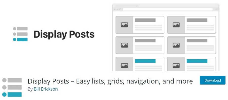 Display Posts plugin