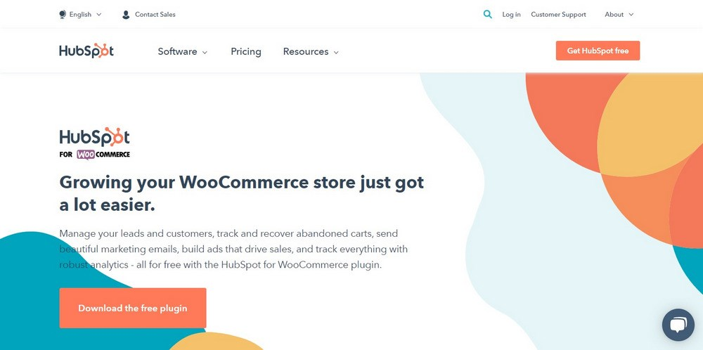HubSpot for WooCommerce plugin