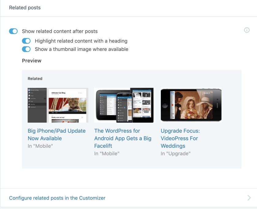 Related Posts WordPress plugin