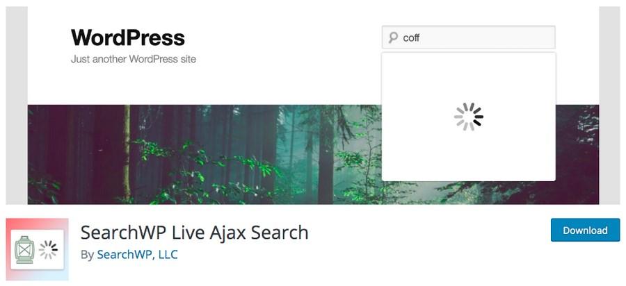 Search WP WordPress plugin