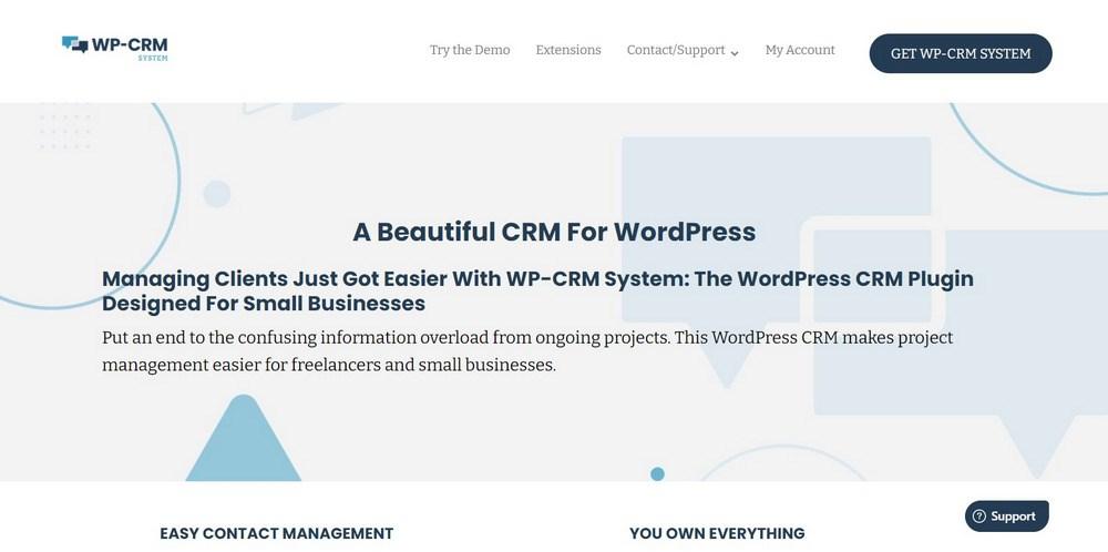 WP-CRM System WordPress