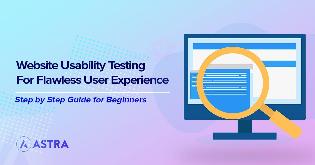 Website usability testing for flawless user experience
