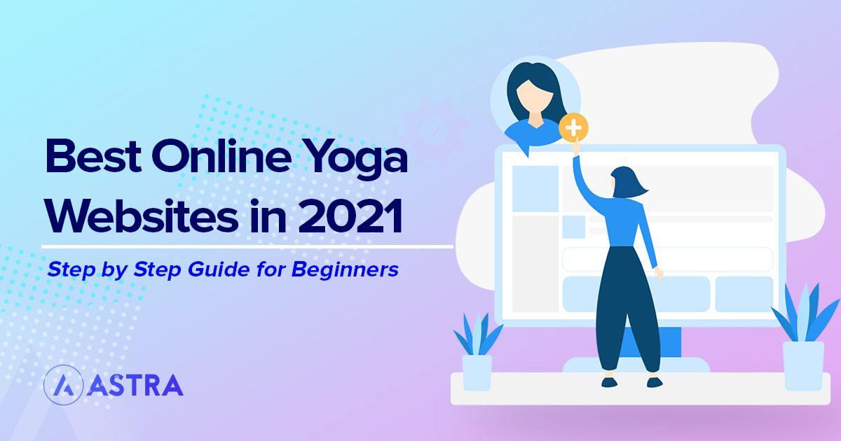 Yoga Websites example