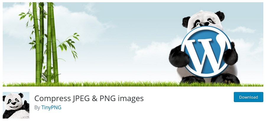 Compress JPEG PNG by tinyPNG