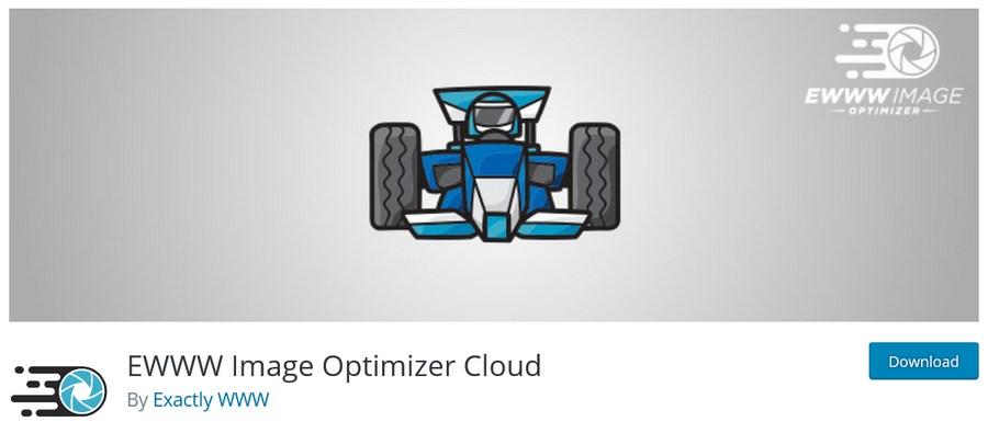 EWWW Image Optimizer Cloud WordPress plugin
