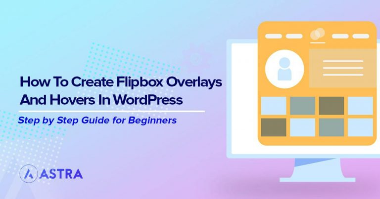 Flipbox overlays and hovers in the WordPress