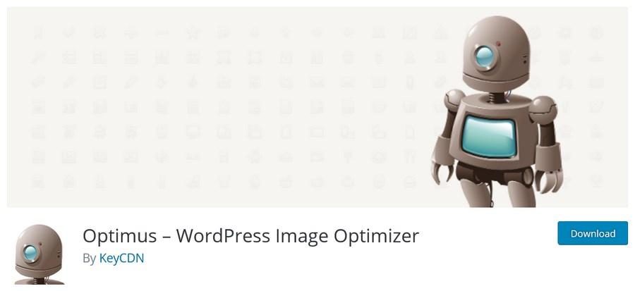 Optimus WordPress Image Optimizer plugin