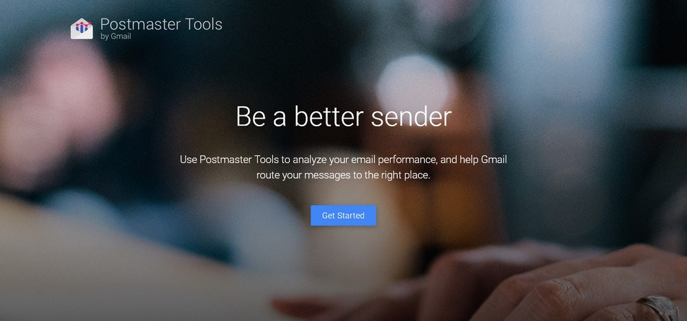 Postmaster tools by gmail