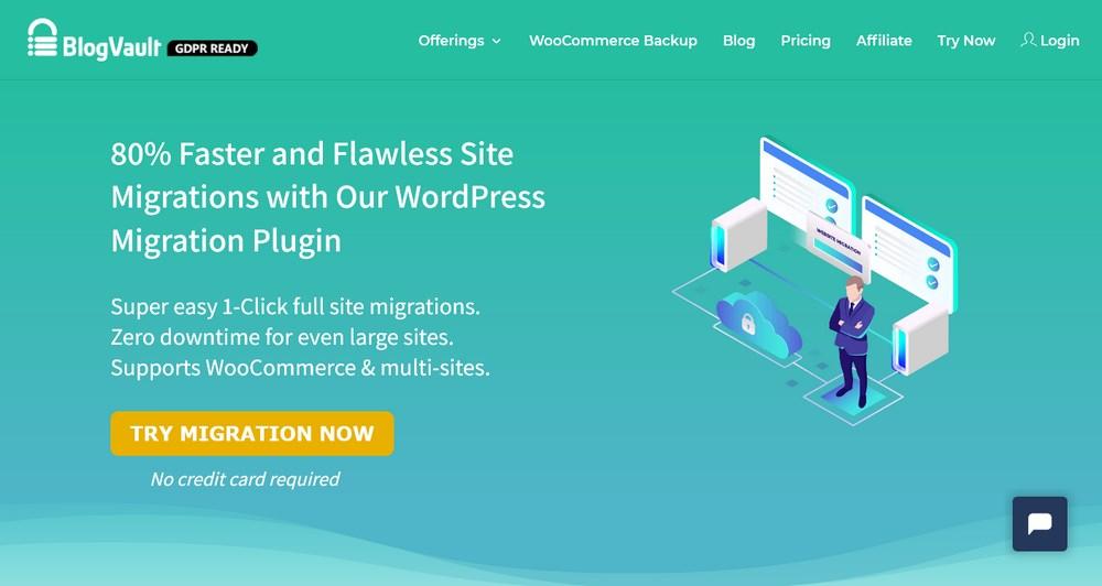 WordPress Migration Plugin BlogVault