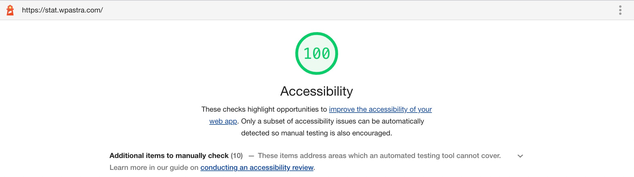 Astra 3.5 - Accessibility Ready