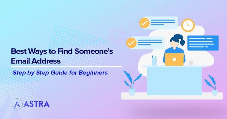 best ways to find someones email address