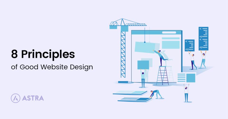 8 Principles Of Good Website Design