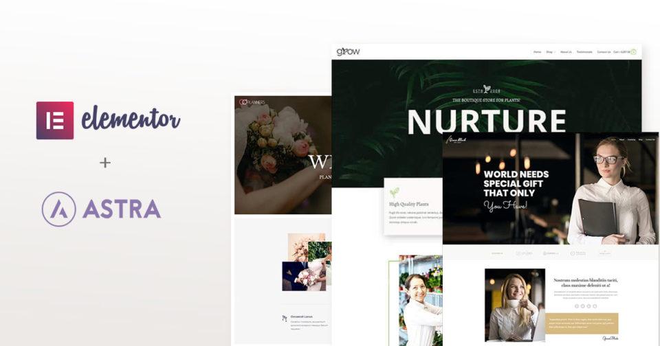 Full website templates elementor free download