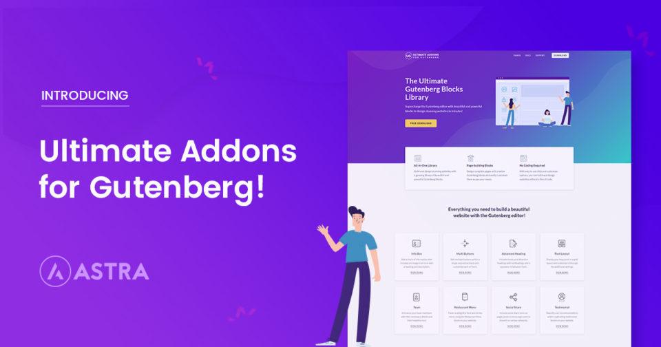 Introducing Free Gutenberg Blocks Library - Ultimate Addons