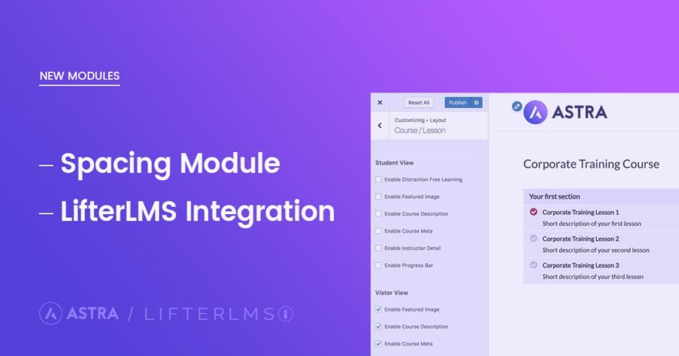 LifterLMS-Spacing-feature