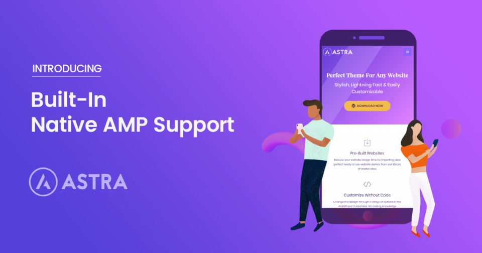 The Best Free AMP Ready WordPress Theme For 2019 - Astra